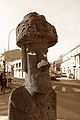 Olot - Plaça de l'Illa de Pasqua - Moai - 20130201 (1).jpg