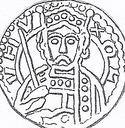 Oluf-Haraldsen coin-from-Lund-from-the-1140s.jpg