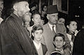 Omar Elwary the Mayor of Jerusalem in one of the Christian celebrations 1955..jpg