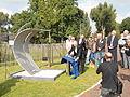 Onthulling missing man memorial Air Crash Museum 40-45 op 13 september 2014 in Rijsenhout 05.JPG