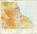 Ordnance Survey Quarter-inch Sheet 9 North East England, Published 1964.jpg