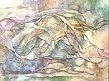 Original watercolor pastel painting, Wave, by Karen Haughey.jpg