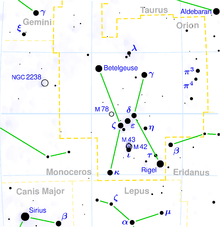 Description de l'image Orion constellation map.png.