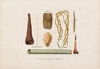 Ornemens et utensiles des Botocudes