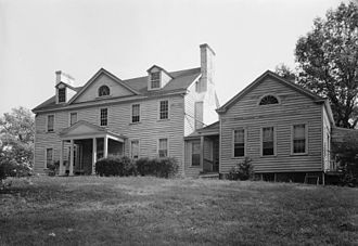 Ossian Hall - Ossian Hall, Front Elevation, Annandale, Virginia.