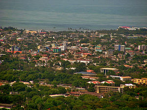 Osu, Accra - Aerial view