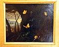 Otto marseus van schriek, sottobosco con ramarro, farfalle e chiocciola, 1650-78 ca..JPG