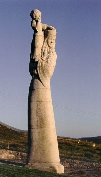 Hew Lorimer - Our Lady of the Isles on South Uist.