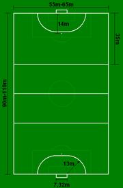 Outdoor Handball Dimensions