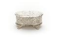 Oval ask av silver med lock och fyra klofötter - Skoklosters slott - 91980.tif