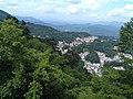 Overlooking Jiuhua Town from Baisui Palace 03.jpg