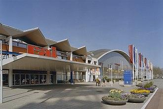 Amsterdam RAI Exhibition and Convention Centre - Europahal RAI in April 2002