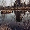 Overzicht in de weerspiegeling van het wateroppervlak, molen heeft van 1921 tot 1981 in Buurser Zand, onder Haaksbergen, gestaan - Usselo - 20361117 - RCE.jpg