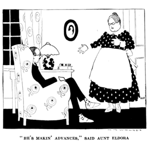 P131, Harper's Magazine 1921--Once a penguin always a penguin.png