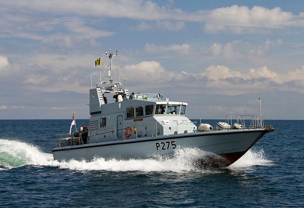 P2000 Class Royal Navy Patrol Vessel HMS Raider MOD 45151351.jpg