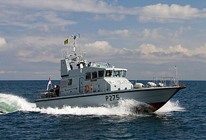 P2000 Class Royal Navy Patrol Vessel HMS Raider MOD 45151351.jpg