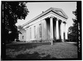 PERSPECTIVE VIEW OF SOUTH AND WEST ELEVATIONS - Dutch Reformed Church, 132 Grand Street, Newburgh, Orange County, NY HABS NY,36-NEWB,12-1.tif