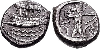 Eber-Nari - Phoenicia, Sidon. Uncertain king. Circa 435-425 BC.