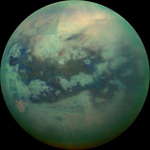 Life on Titan - Titan - infrared view (November 13, 2015).