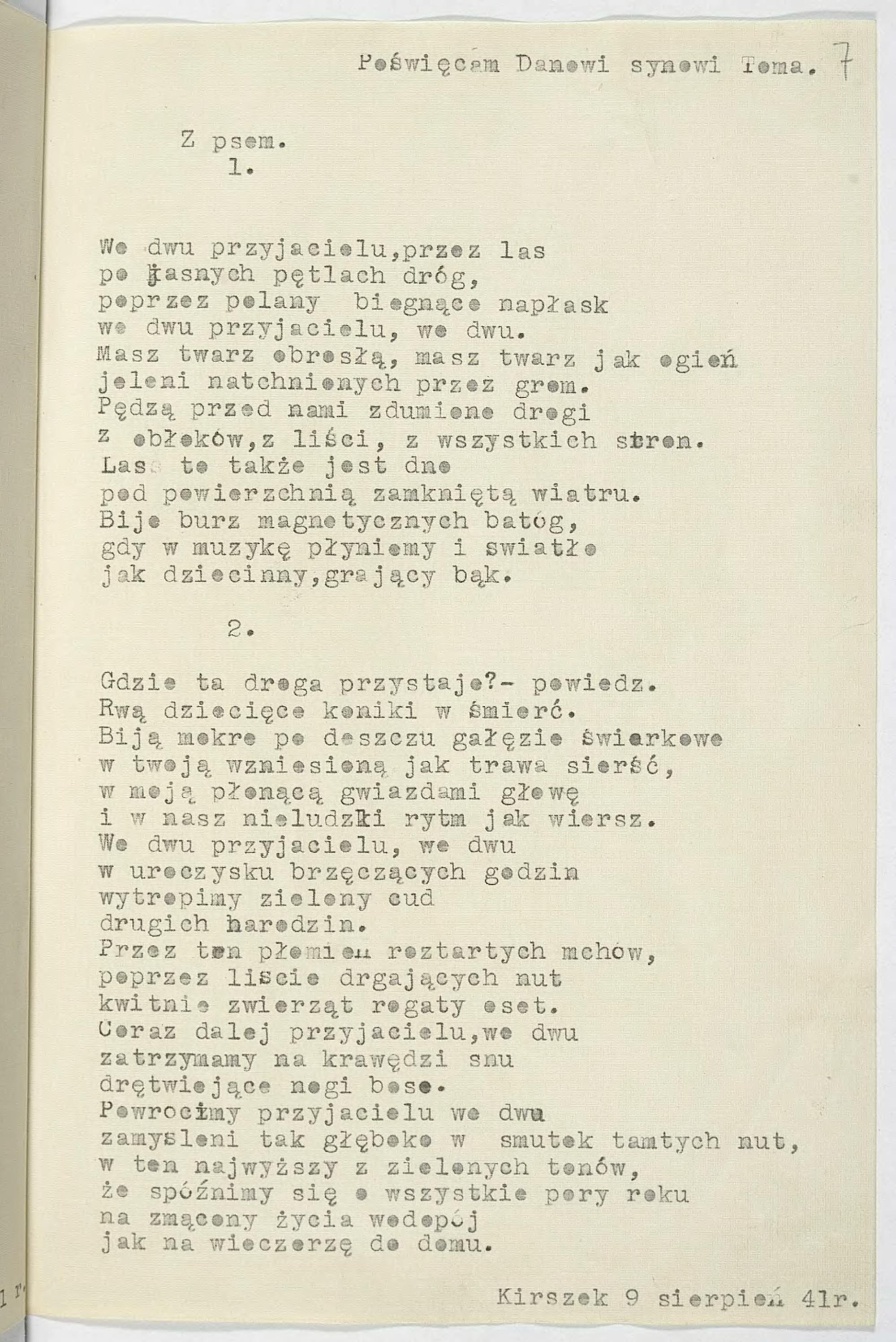Stronapl Krzysztof Kamil Baczyński 12na19 Wiersze Wybrane