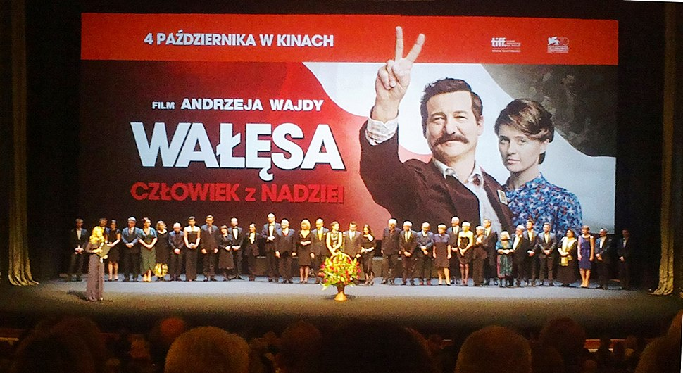 PL Wałęsa movie premiere