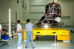 Pressurized Mating Adapter - Image: PMA 3 arrives in SSPF