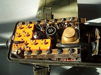 AN/PRC-6 - Image: PRC 6electronics.agr