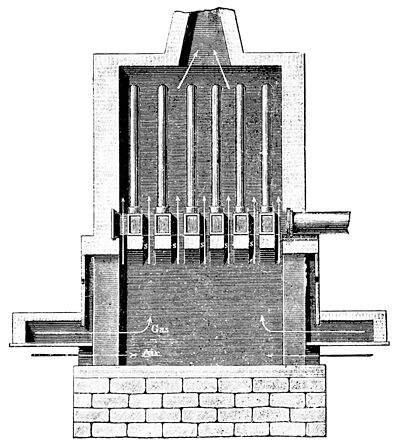 PSM V38 D472 Longitudinal section of the player hot blast stove.jpg