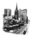 PSM V72 D448 Sixth avenue churches and skyscrapers.png