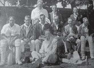 Club Atlético Ferrocarril General San Martín - 1909 Pacific cricket team.