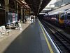 Paddington tube stn Hammersmith & City westbound look east.JPG