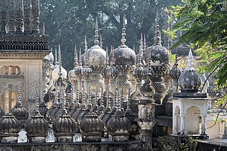 Paigah Tombs - Image: Paigah Tombs Roof