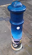 Painted Bollard, Winchester 17