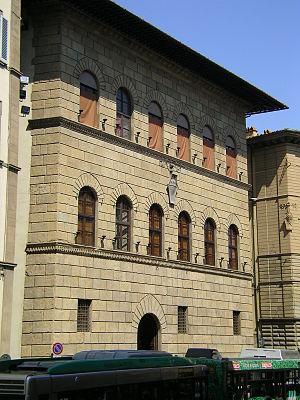 Palazzo Antinori - Façade of Antinori palace.