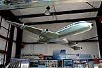 Pan American McDonnell-Douglas DC-8 model, early 1960s - Oregon Air and Space Museum - Eugene, Oregon - DSC09819.jpg