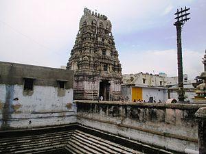 Pandava Thoothar Perumal Temple - Image: Pandavathoothar (12)
