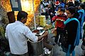 Pani Puri Stall - Christmas Observance - Poush Mela - Nandan Area - Kolkata 2015-12-25 8111.JPG