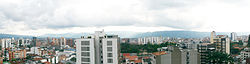 Viwe of Downtown Bucaramanga, from Cabecera area