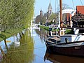 Papenburg, Splitting mit Blick auf St. Michael - panoramio.jpg