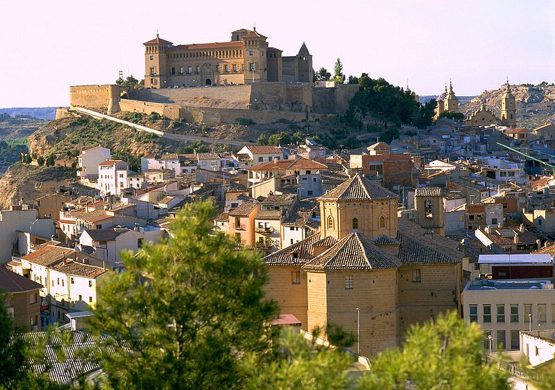 Vista panorámica de Alcañiz