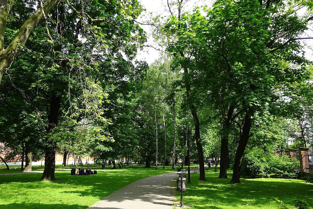 Park Strzelecki w Krakowie – Wikipedia, wolna encyklopedia