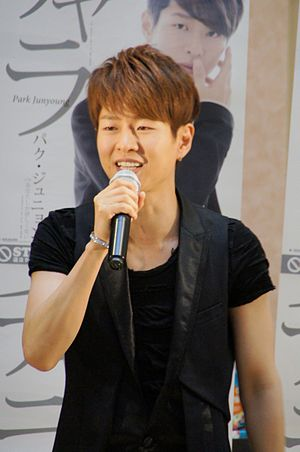 Park Junyoung - Park Junyoung at a promotional event in Japan, June 2013