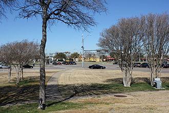 Shepton, Plano, Texas - Intersection near what was Shepton