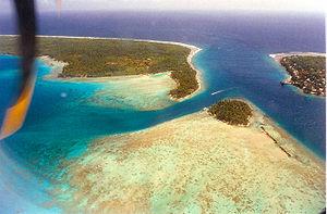 Rangiroa (commune) - Avatoru Pass, atoll of Rangiroa