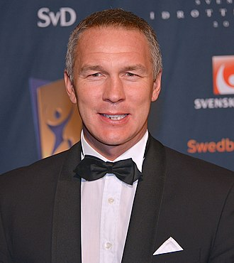 Patrik Andersson - Patrik Andersson at Svenska idrottsgalan in January 2013