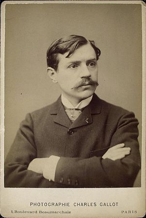 Paul Bourget - Bourget early in his career.