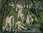 Paul Cézanne - Four Bathers (Quatre baigneuses) - BF951 - Barnes Foundation.jpg