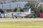 Pay's Helicopters (VH-TLZ) Cessna 208B Caravan, operated as Birddog 375, at Albury Airport.jpg