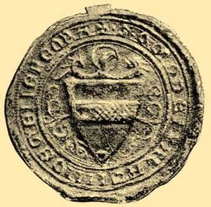 Aba (genus) - Seal of Amadeus Aba (early 14th century)