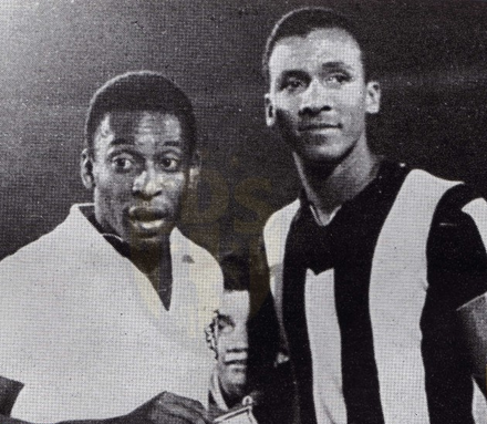 Pelé i Alberto Spencer
